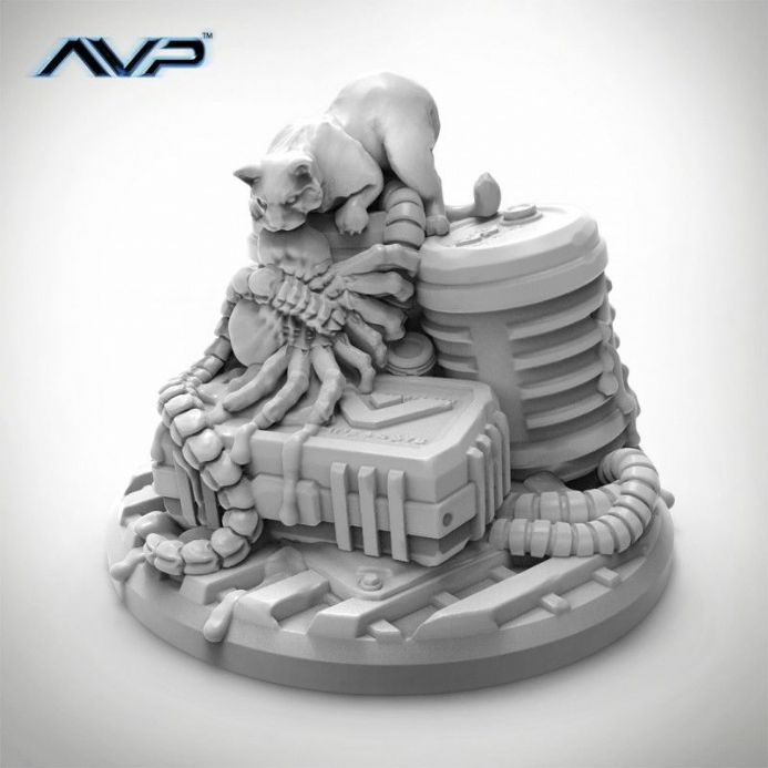 AvP: The Hunt Begins – Chester the Cat Expansion | Buy now at The G33Kery - UK Stock - Fast Delivery